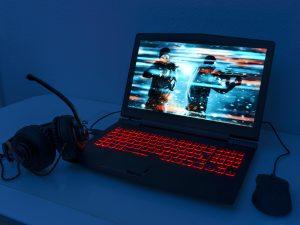 En dator med bra innehåll
